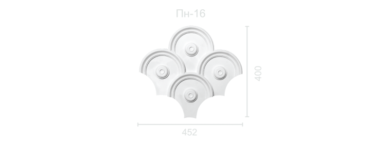 Plaster panel PP-16