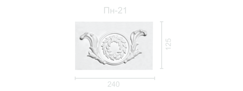 Plaster panel PP-21