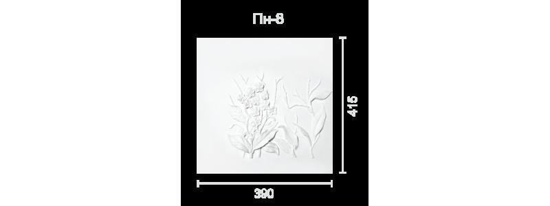 Plaster panel PP-8