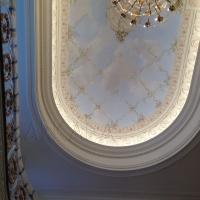 plaster molding ballroom style ceilings