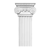 Plaster pilasters