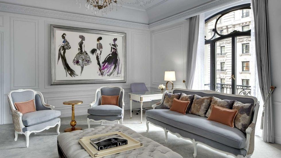 Custom Plaster Interior Design Decor, Dior Home Furniture