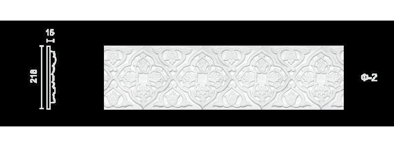 Plaster frieze F-2