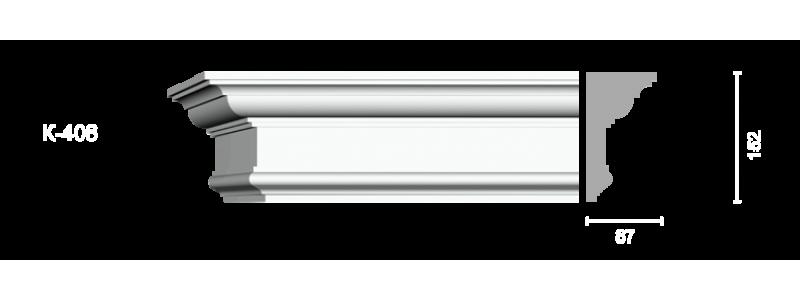 Profiled cornice С-406