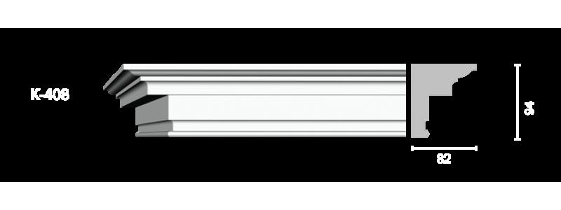 Profiled cornice С-408
