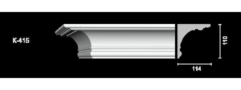 Profiled cornice С-415