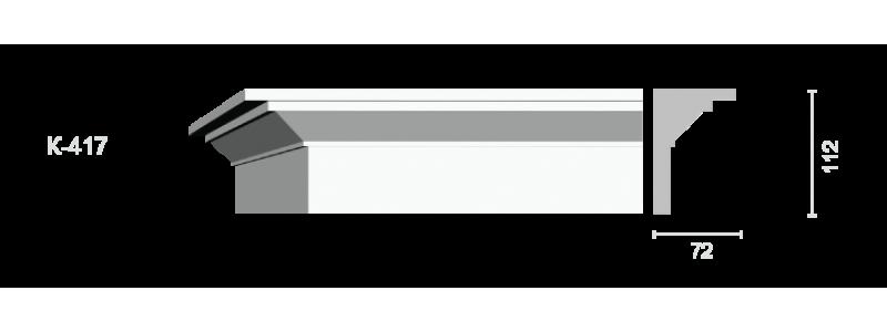 Profiled cornice С-417