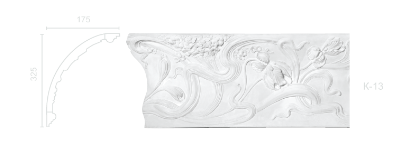 Enriched cornice С-13