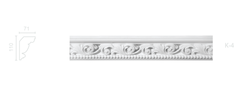 Enriched cornice С-4