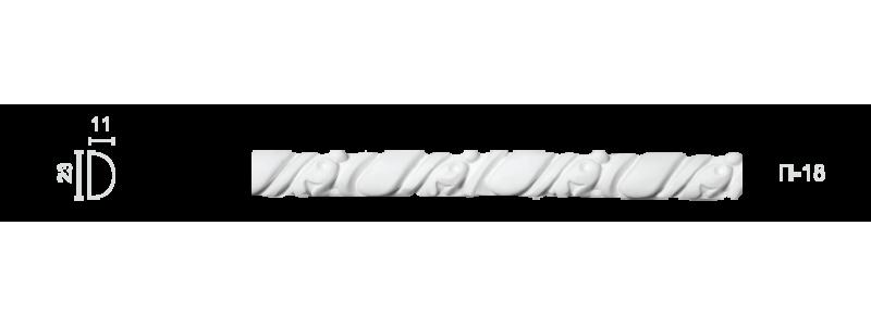 Plaster frieze P-18