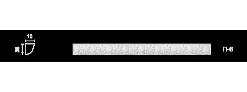 Plaster frieze P-6