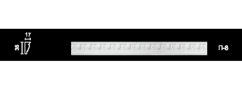 Plaster frieze P-8
