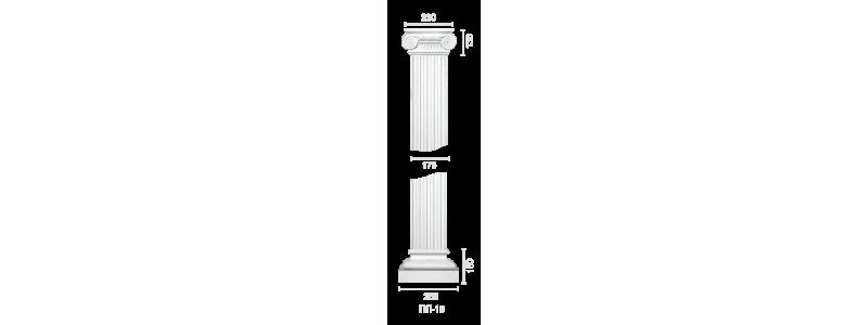 Plaster pilaster PR-15