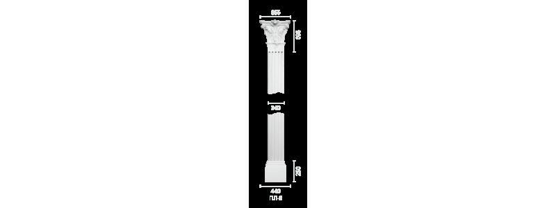 Plaster pilaster PR-9