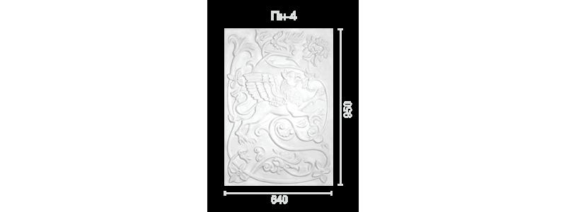 Plaster panel PP-4